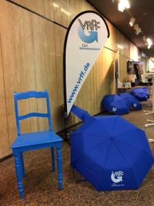 VRFF Blauer Stuhl