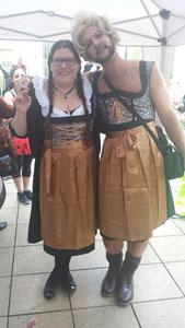 Karneval 2015 Anke und Arne - Zwillinge